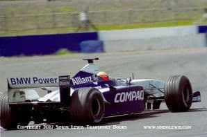 Williams FW23 BMW Ralf Schumacher. Silverstone testing 2001. Photo B