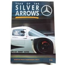 YEAR OF THE SILVER ARROWS : SPORTSCAR  WORLD CHAMPIONSHIPS 1990-91 (Spurring)