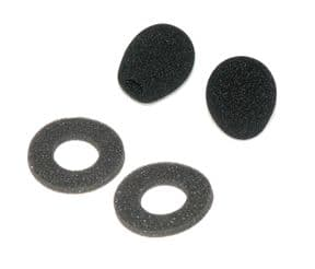 Spare Microphone Foams and Earpiece Comfort Pads