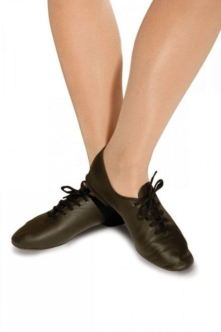 ROCH VALLEY  Full Sole Jazz Dance Shoes in Black or White - AJS/R