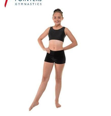 Tappers & Pointers - Smooth Velvet Micro Gymnastics Shorts, various colours - VEL/MICRO