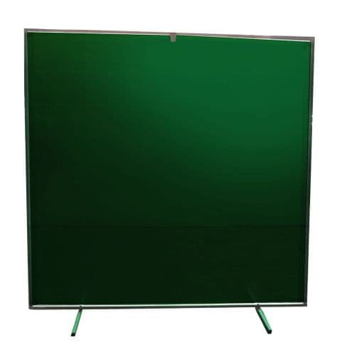 Collapsable Welding Curtain, Frame and Carry Bag 6' x 6'