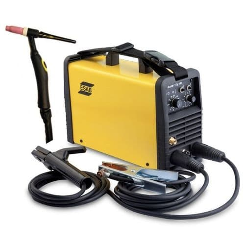 Esab Buddy 160 TE DC HF Tig Package