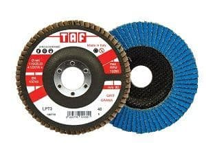 TAF LPT3 Ceramic Flap Discs 115mm