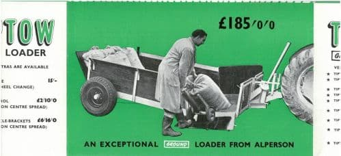 Alperson's Tip-Tow Ground Loading Trailer Brochure -PB2