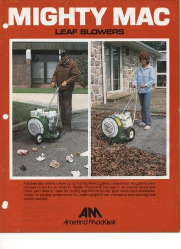 Amerind-MacKissic Mighty Mac Leaf Blowers Brochure