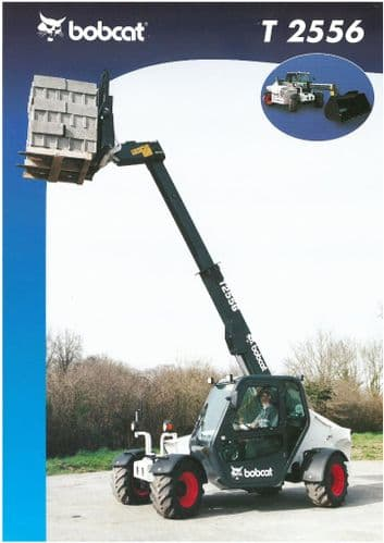 Bobcat T 2556 Telescopic Handler Brochure