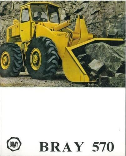 BRAY 570 WHEEL LOADER BROCHURE - 1RS - TEXT IN FRENCH ONLY