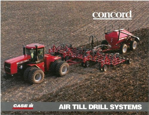 Case IH Air Till Drill Systems - Concord 1100 2300 2400 3400 Brochure