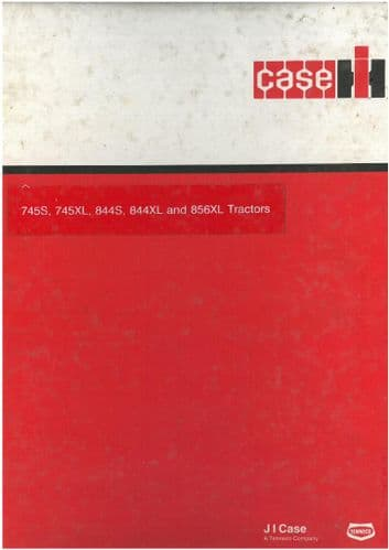Case IH Tractor 745S, 745XL, 844S, 844XL and 856XL Troubleshooting and Schematic Set Manual -