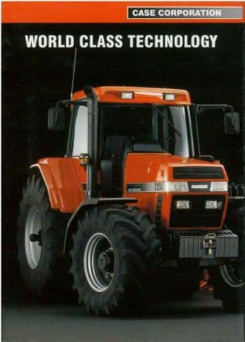 Case IH Tractor - World Class Technology Brochure
