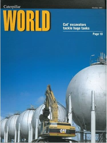 Caterpillar World Oct 2001 Magazine