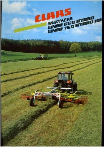 Claas Swarther Liner 660 & 760 Brochure