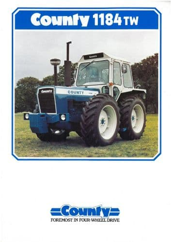 County Tractor 1184TW Brochure - Grass