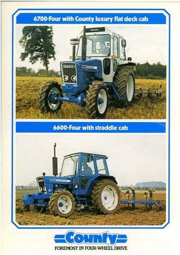 County Tractor 6600 Four & 6700 Four Brochure
