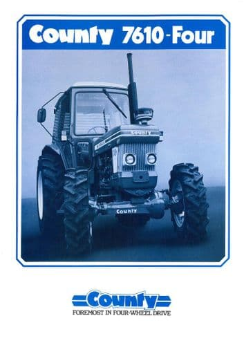 County Tractor 7610 Four Brochure