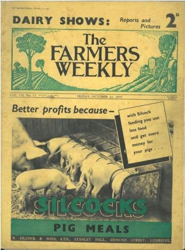 Farmers Weekly - October 22nd 1937