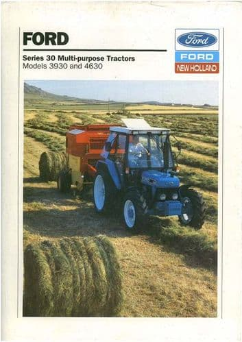 Ford New Holland Tractor 3930 4630 Brochure