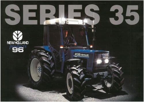 Ford New Holland Tractor Series 35 - 3935 4135 Brochure