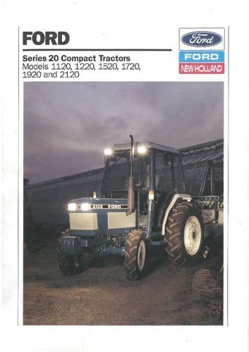 Ford Tractor 1120 1220 1520 1720 1920 2120 Brochure