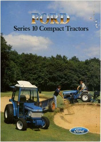 Ford Tractor 1210 1710 1910 Brochure