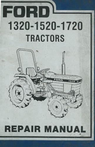 Ford Tractor 1320 1520 1720 Workshop Service Manual