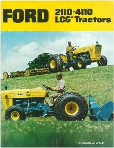 Ford Tractor 2110 & 4110 LCG Brochure