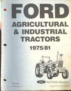 Ford Tractor 2600 3600 4100 4600 5600 6600 7600 5700 6700 7700 & Indust 420 535 233 531 Parts Manual