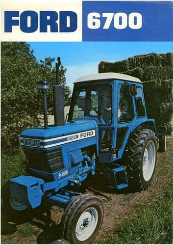 Ford Tractor 6700 Brochure
