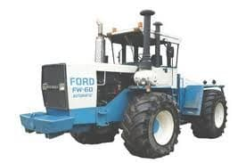 Ford Tractor FW20 FW30 FW40 FW60 Parts Manual