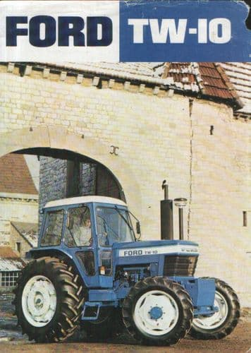Ford Tractor TW10 Brochure
