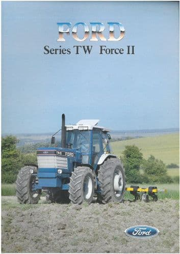Ford Tractor TW15 TW25 TW35 Brochure - Series TW Force II