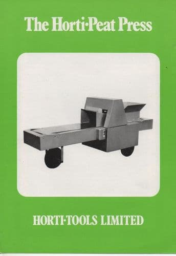 Horti-Tools Horti-Peat Press Brochure