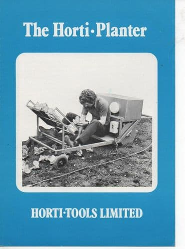 Horti-Tools Horti-Planter Brochure