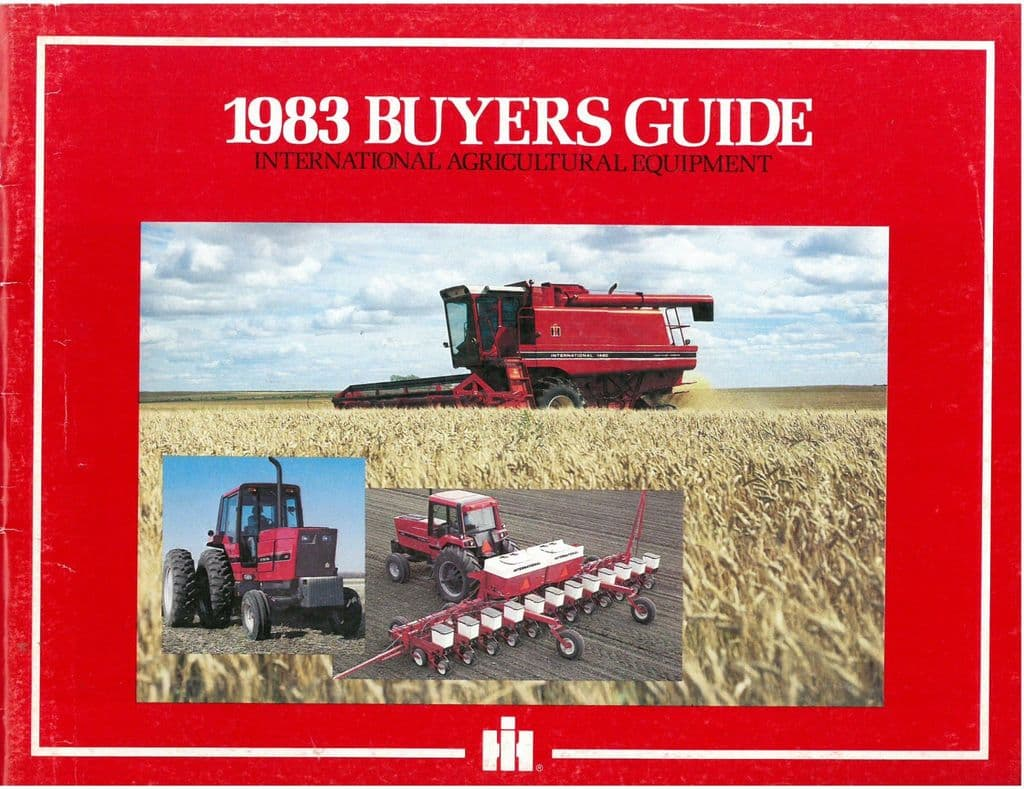 Case International Buyers Guide For 1985 Brochure AMIL15