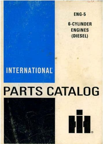 International Diesel 6 Cylinder Engine D414 DT414 D436 DT436 D360 D312 DT466 Parts Manual