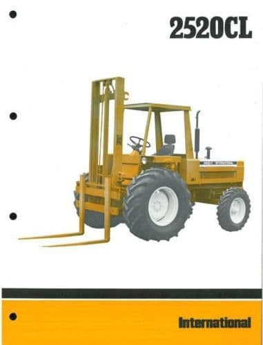International Forklift 2520CL Brochure - 2520 CL