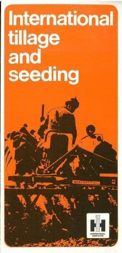 International Tillage & Seeding Brochure - Plough Drill Harrows Spreader - SW3