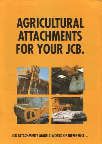 JCB Agricultural Attachments Brochure