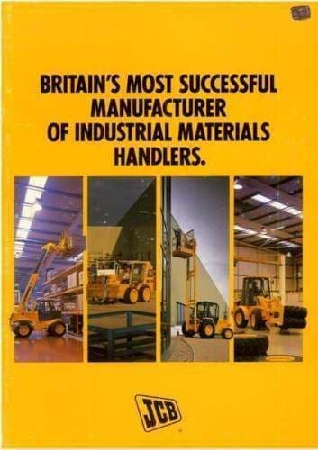 JCB Loadalls, Robots, Wheel Loaders, Forklifts Brochure