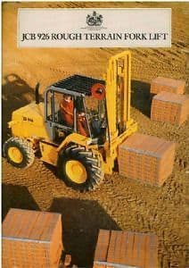 JCB Rough Terrain Forklift 926 Brochure