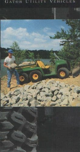 John Deere Gator Utlity Vehicle Brochure