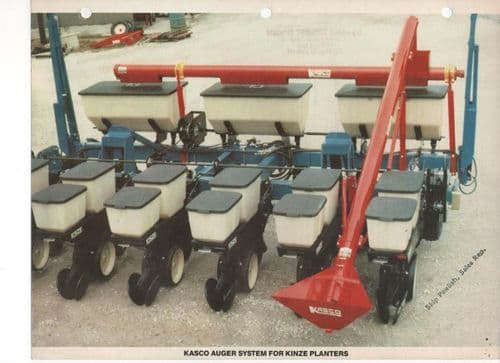 Kasco Auger System for Kinze Planters Brochure