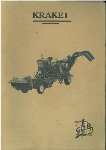 Krakei Potato Harvester 123 422 & 536 Parts Manual