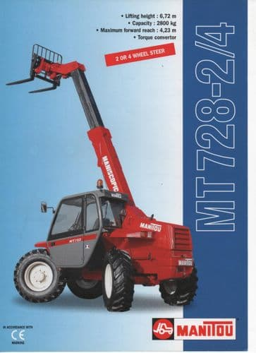 Manitou MT 728-2/4 Brochure
