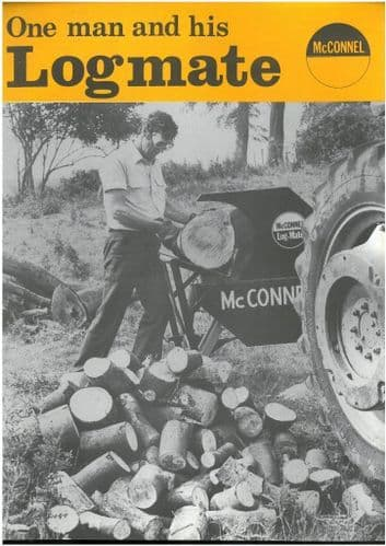 McConnel One Man and his Logmate - Saw Bench Brochure - BX108