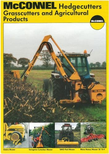 McConnel Power Arm  Hedgecutters, Grasscutters and Agricultural Products 93 and 93E, 91, 92, 9058,