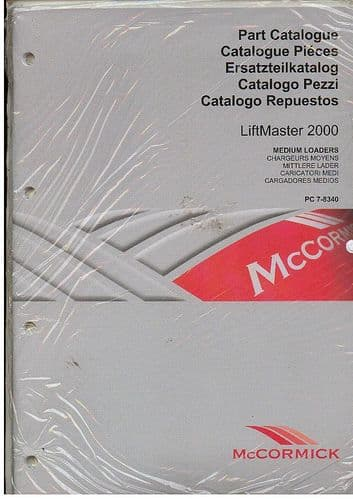 McCormick Loader Liftmaster 2000 Parts Manual