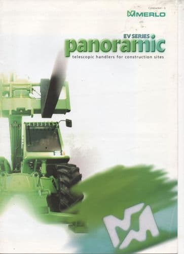 Merlo Telescopic Handler - EV Series Panoramic Range Brochure