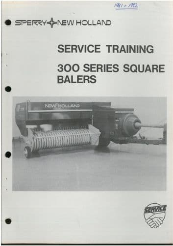 New Holland Baler 300 Series Service Manual